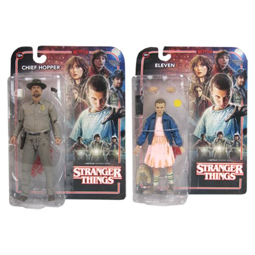 Stranger Things 7-Inch Action Figure Set