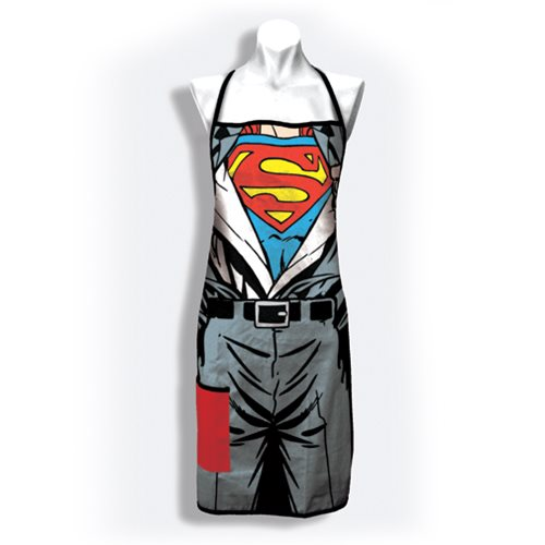 Superman Revealed Cook's Apron with Pocket
