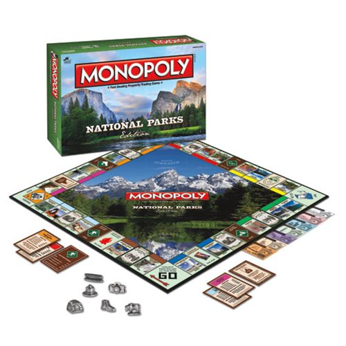 National Parks Monopoly Game