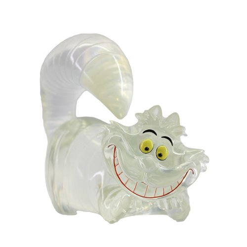 Disney Showcase Alice in Wonderland Cheshire Cat Clear Mini Statue