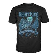 Game of Thrones Kings Ice Dragon Pop! Black T-Shirt