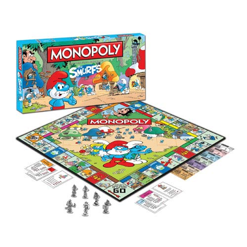 The Smurfs Edition Monopoly