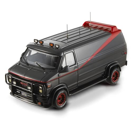 A-Team Classic Van Hot Wheels Elite 1:43 Scale Vehicle