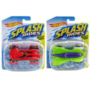 Hot Wheels Splash Rides Vehicles Case