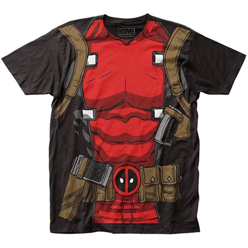 Deadpool Muscle Suit T-Shirt