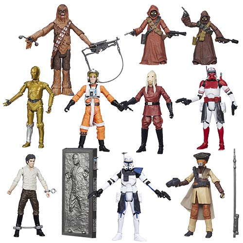 Star Wars Black Series 3 3/4-Inch Action Figures Wave 8 Case