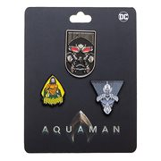 Aquaman Lapel Pin Set