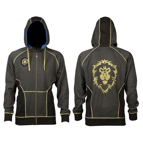 World of Warcraft Alliance Classic Premium Zip-Up Hoodie