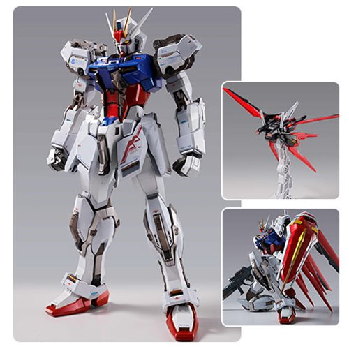 Mobile Suit Gundam Seed Aile Strike Gundam Bandai Metal Build Action Figure