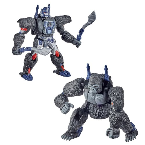 Transformers War for Cybertron Kingdom Voyager Optimus Primal, Not Mint