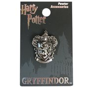 Harry Potter Gryffindor Crest Pewter Lapel Pin