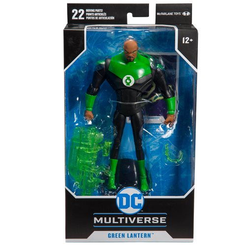 DC Animated Wave 1 Justice League Animated Series John Stewart Green Lantern 7-Inch Action Figure