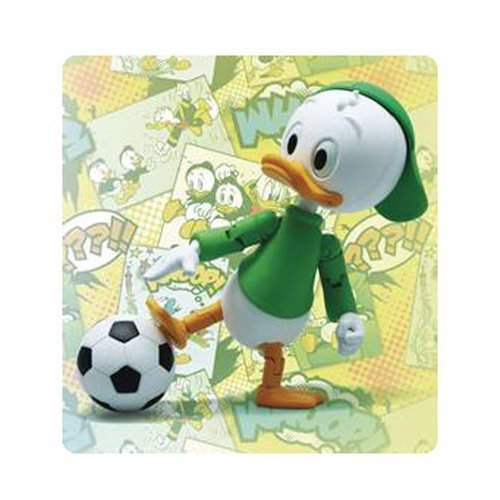 Disney Louie Duck Hybrid Metal Figuration #055 Action Figure