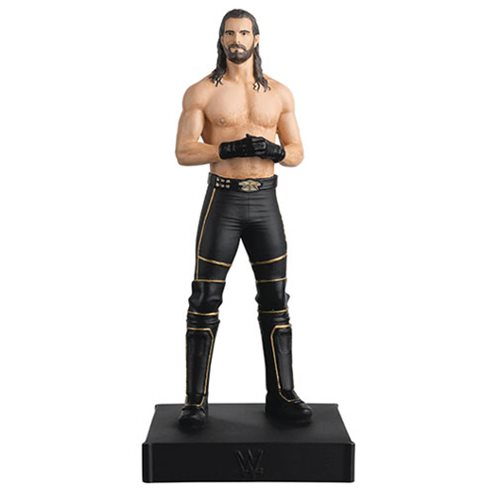 WWE Championship Collection Seth Rollins Statue with Collector Magazine #7