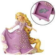 Disney Traditions Tangled Rapunzel with Pascal Charm Statue by Jim Shore