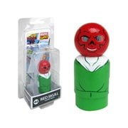Red Skull Pin Mate Wooden Figure