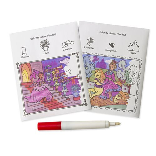 Melissa & Doug Princess On the Go Color Blast No-Mess Coloring Pad