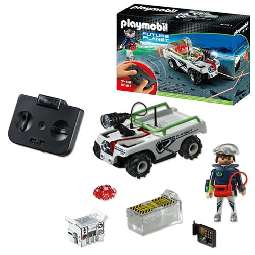 Playmobil 5151 Future Planet Explorer Quad with IR Knockout Cannon