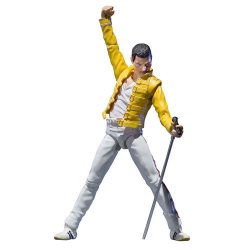 Queen Freddie Mercury SH Figuarts Action Figure