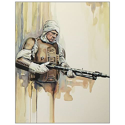 Star Wars Dengar Bounty Hunter Collection Art Lithograph