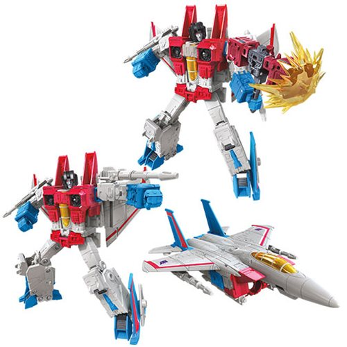 Transformers  Earthrise Voyager Starscream Earth