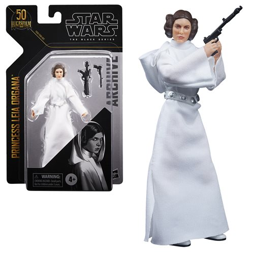 Star Wars Black Series Archive Princess Leia Organa Figure