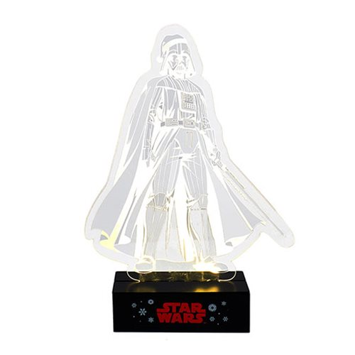 Star Wars Darth Vader 11 1/2-Inch LED Light-Up Tablepiece
