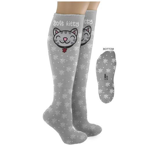 Big Bang Theory Soft Kitty Knee Highs Socks
