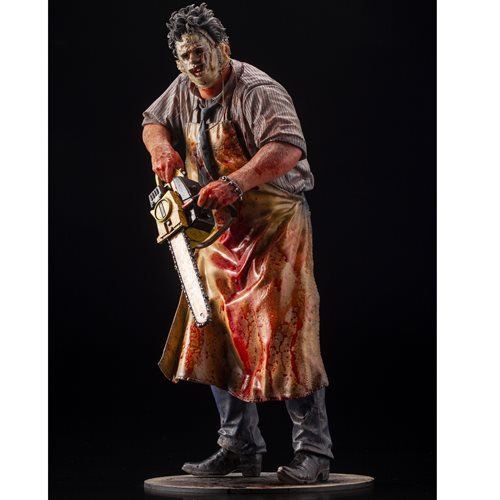 Texas Chainsaw Massacre Leatherface Slaughter ArtFX Statue - Previews Exclusive
