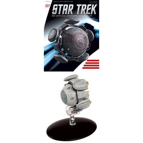 Star Trek Starships Eymorg Ion Drive Vehicle with Collector Magazine #127
