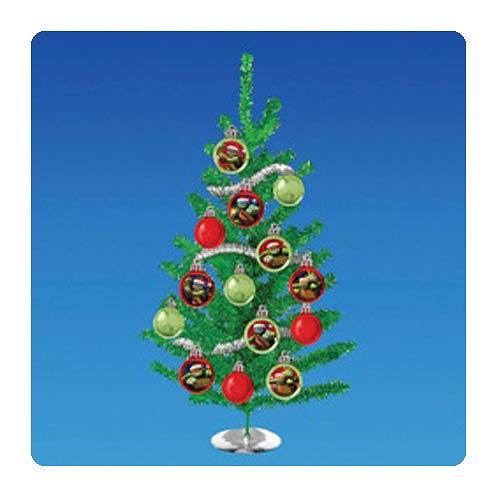 Ninja Turtle Christmas Tree.Teenage Mutant Ninja Turtles Nickelodeon Tv Tinsel Christmas Tree