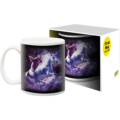 Random Galaxy Sloth Unicorn 11 oz. Mug