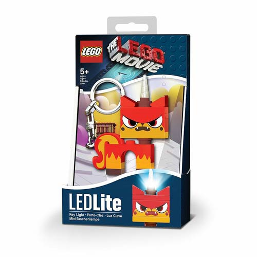 The LEGO Movie Angry Kitty Minifigure Flashlight