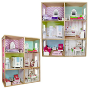 My Girls Dollhouse Modern Home