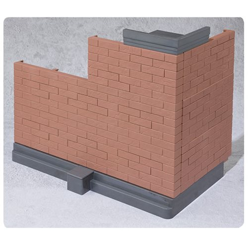 Brick Wall Brown Bandai Tamashii Option Effect Accessories