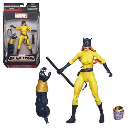 Avengers Marvel Legends Fierce Fighter Hellcat Action Figure