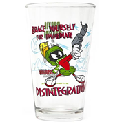 Looney Tunes Marvin the Martian Toon Tumbler Pint Glass