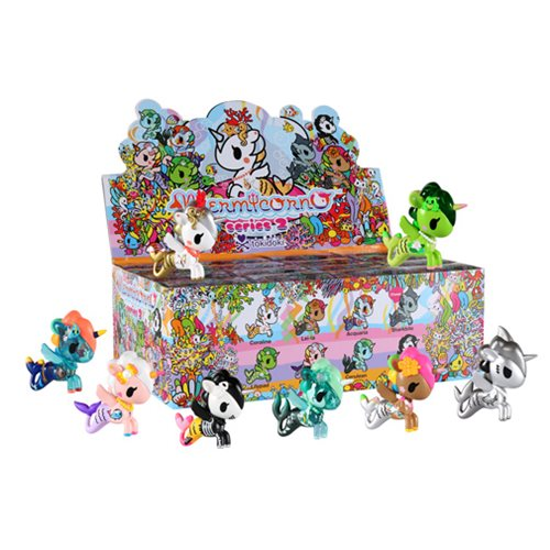 Tokidoki Mermicorno Series 2 Mini-Figures Display Tray