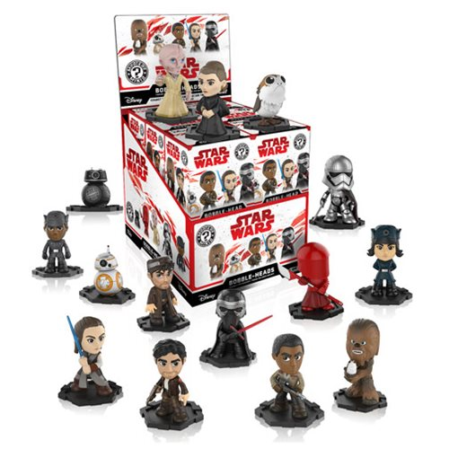 Star Wars: The Last Jedi Mystery Mini Bobble Head Display Case