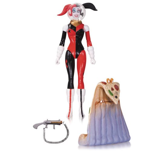 DC Comics Designer Series Retro Rocket Harley Quinn by Amanda Conner Action Figure