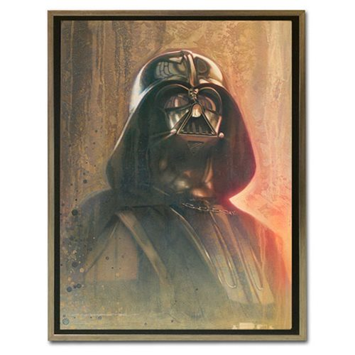 Star Wars Timeless Series Darth Vader by Jerry Vanderstelt Framed Canvas Giclee Art Print
