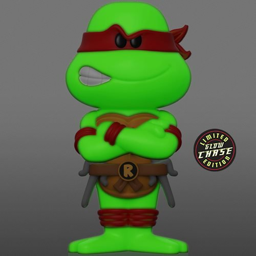 Teenage Mutant Ninja Turtles Raphael Vinyl Soda Figure