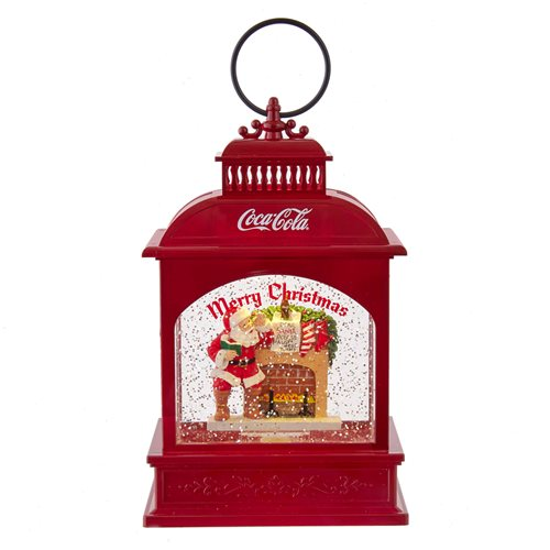 Coca-Cola Santa 9-Inch Lighted Lantern