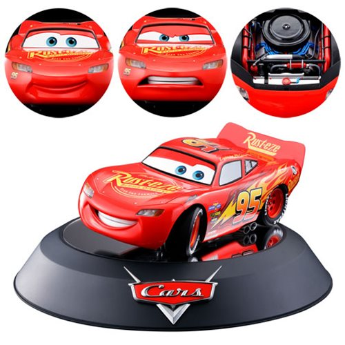 Cars Lightning McQueen Chogokin Die-Cast Metal Vehicle