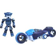 Kingdom Hearts Tron Lightcycle Deluxe Minimates Set