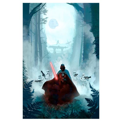 Star Wars Vengeful Pursuit by Jeremy Saliba Canvas Giclee Art Print