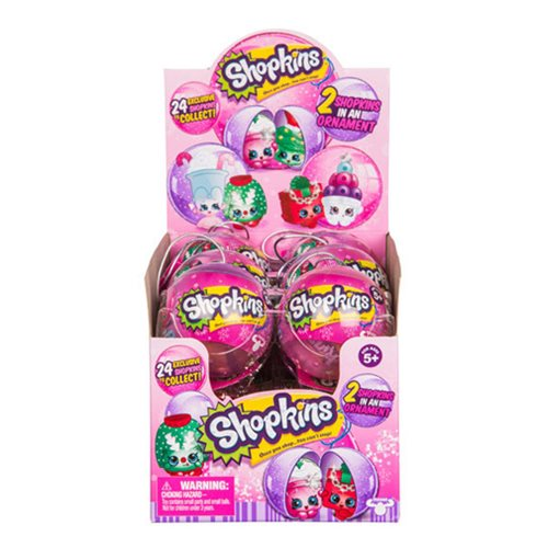 Shopkins Christmas Bauble Random 6-Pack