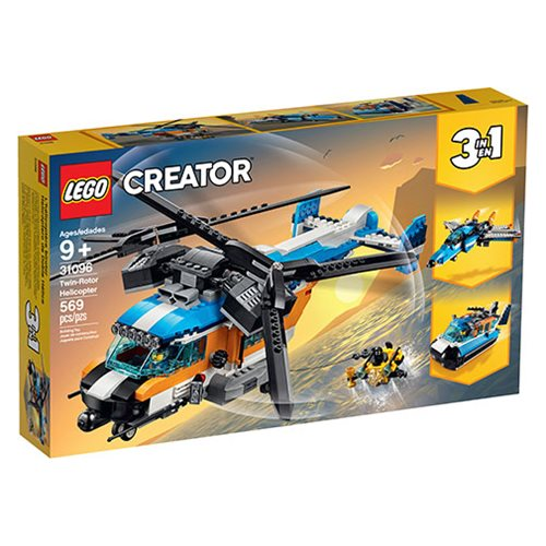 LEGO 31096 Creator Twin-Rotor Helicopter