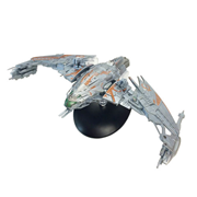 Star Trek Starships Klingon Patrol Ship Vehicle & Magazine