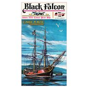 Black Falcon Pirate Ship Classic 1:100 Scale Plastic Model Kit